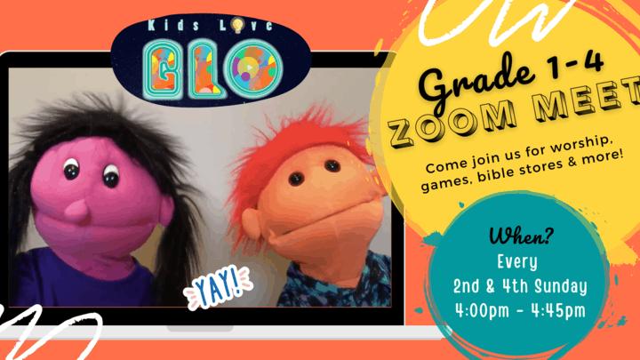 Grade 1-4 Zoom Meet