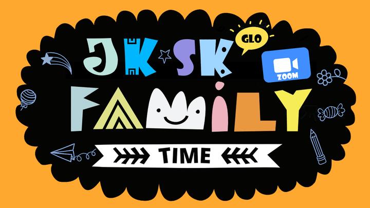 JK SK Family Zoom Time